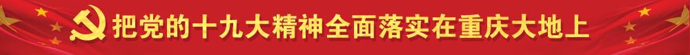 把党的十九大精神全面落实在重庆大地上